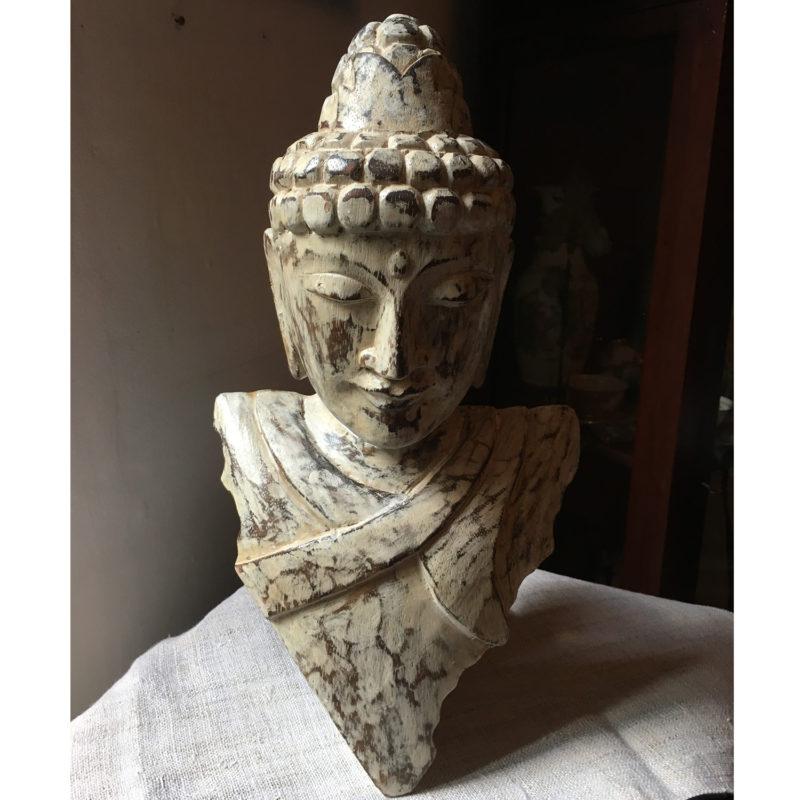 Buddha di legno da parete