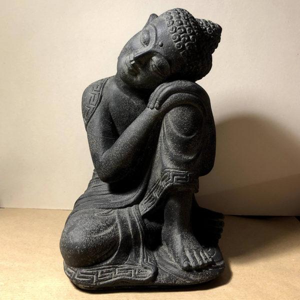 Buddha dormiente in sand stone